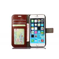 Buy Side Open Custom Wallet Cell Phone Case , Horse Magnetic Leather Case Apple Iphone8 at wholesale prices