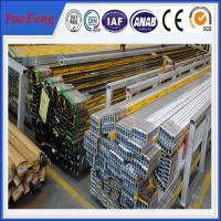 Quality all types of aluminium extrusion, selling aluminium profiles for windows frame for sale