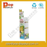 Quality Custom Corrugated Cardboard Display Stands For Food Promotion for sale