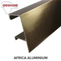 Quality Polished aluminum extrusion profiles concrete window and door frame for sale