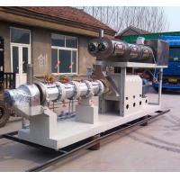 Buy Free formula and installation 3500-5000kgs/h steam type double screw extruder pet food pellet machine at wholesale prices