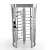 Buy cheap 304SS Mantrap Full Height Access Control Turnstiles Door Shock-Proof Single Channel from wholesalers