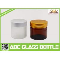 Buy 10ml 50ml 100ml 120ml 4oz Large Luxury Amber Frosted Cream Cosmetic Packaging at wholesale prices