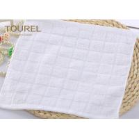 Quality Custom 100% Cotton Washcloth Yarn-Dyed or Jacquard Face Towel for sale