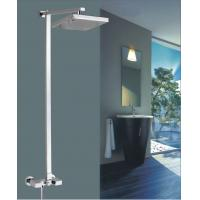 """Quality 8"""" Brass square Wall Mounted Shower Mixer Taps Rainshower Chrome FOR kitchen for sale"""
