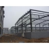 Quality H-section Industrial Steel Building Fabrication For Steel Column / Beam for sale