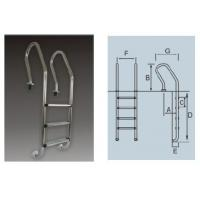 Quality SF Series Stainless Steel Pool Ladder for sale