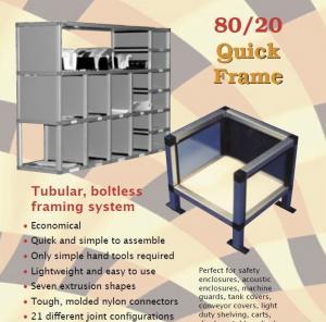 Buy Rectangle, square tube aluminium shelf brackets aluminum shelves for storage/ at wholesale prices