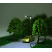 Buy Steel Model Street Lights single arm With 3V LED scale ranges from 1:75-1:200 at wholesale prices