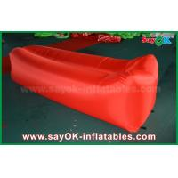 Buy cheap Nylon Cloth Lightweight Sleeping Air Bag Pop up Sofa Air Couch Beach Inflatable from wholesalers