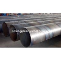China SunnySteel are a manufacturer of SAW pipe with high quality on sale