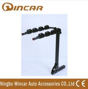 China 4 Bike Rear Mounted Car Bike Carrier Iron Hitch 50 x 50 x 3mm on sale