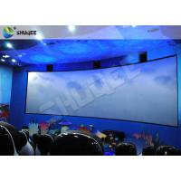 Quality Animation 9D Movie Theater Stimulating 9D Cinema System With Curve Screen for sale