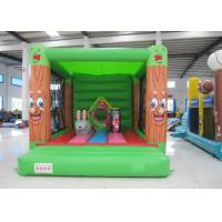 Quality Fireproof Materials Kids Jump House , Commercial Indoor Inflatable Bouncer 3 X 4m for sale
