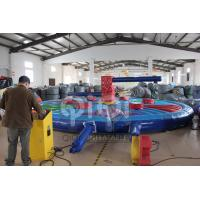 Quality 8m Inflatable mechanical Wipe Out Game for sale