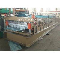 Quality 686 & 762 IBR and Corrugated Profile Roll Forming Machine / Metal Roofing Equipment for sale