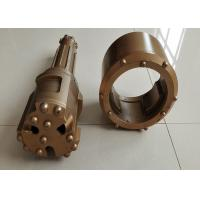 Quality 76/89mm Overburden Casing Drilling System Efficient Below 300mm Gold Color for sale