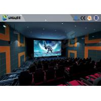 Quality 5.1 Audio System 4D Big Movie Theater With Red Standard Chair for sale