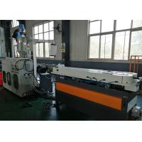 Quality Plastic Underground Corrugated Pipe Extruder , Plastic Extrusion Equipment For Pipe for sale