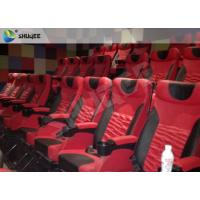 Quality High Definition 4D Cinema System With Safety Motion Chair 3D Stereo Movie for sale