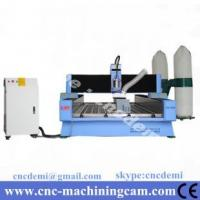 Quality 4th axies servo motor stone sculpture cnc router machine 1325(1300*2500*300mm) for sale