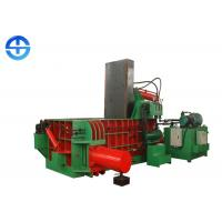 China Hydraulic Scrap Metal Baler 2500 KN Aluminum Cans Baler Machine 500×500 Mm Bale Size on sale