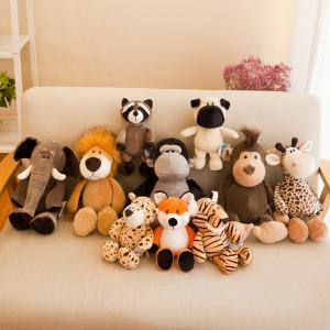 China Embroidered Eco Friendly Plush Toys Pp Cotton Stuff Fashion Gift Customized Size on sale