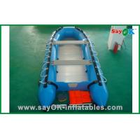 Quality 3 Person Deep-V Fiberglass PVC Inflatable Boats For Summer Water Fun for sale