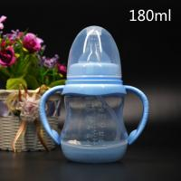 Buy BPA Free super wide neck Temperature change color PPSU baby feeding bottle 180ml-300ml at wholesale prices