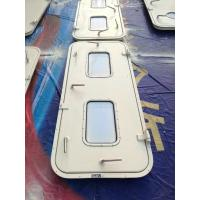 Quality Marine Singe Leaf Aluminum Weathertight Door With Stainless Steel Accessories for sale