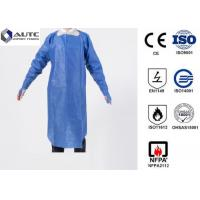 Quality PE Disposable Medical Workwear Protective Clothing Liquid Proof Lightweight for sale