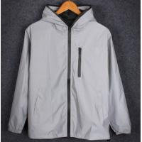 Quality Young People Mens Reflective Jacket Outdoor Soft Shell Plain Color Thin Design for sale