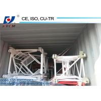 Angle steel160*16mm Made 1.2*1.2*3m Tower Crane Spare Part Mast Section for sale