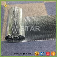 Buy cheap Double Aluminium Foil Heat Reflective Material Heat Insulating Bubble Material from wholesalers