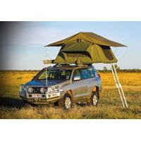 Quality Customized Pop Up Roof Top Tent , Aluminum Pole Roof Rack Mounted Tent for sale