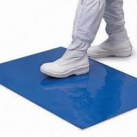 China Durable Sticky Mat for Clean Room, Comes in Blue Color, Measures 14 x 26 and 18 x 45 Inches on sale
