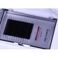 Quality Black Color 0.07mm 3D Eyelash Extensions 3 Mix Length In One Row ILAC MRA Approval for sale