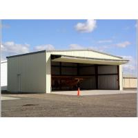 Quality Modern Galvanized Steel Structure Hangar Building Environmental Friendly for sale