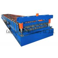 Quality YX-1020 Color Roofing Sheet Roll Forming Machine GI PPGI Raw Material for sale