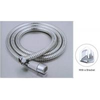 Quality 120CM Chrome Plated Shower Hose , Double Lock Shower Hose ACS Certification for sale
