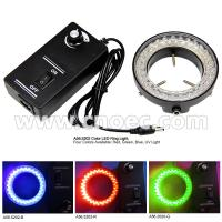 China 60 Microscope LED Ring Light Microscope Accessories Adjustable with UV Light on sale