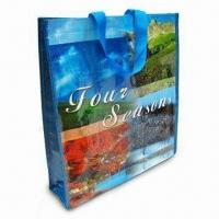 Quality Shopping Bag, Made of Woven PP Material, Measures 38 x 42 x 10cm for sale