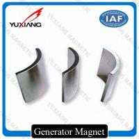 Quality N52 N42 Neodymium Arc Magnets Precise Tolerance For Permanent Machine Magnet for sale
