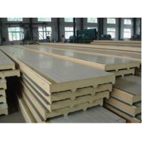 Quality BEIPENG SHOUHAO® polyurethane sandwich insulation board with metal exterior panels for sale