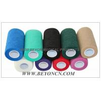 Quality Cohesive Bandage Non Woven Fabric Hand Tearable For Cow Equine Horse Protection for sale