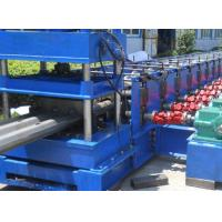Quality 3 Waves Highway Profile Steel Roll Forming Machine For Expressway Guard Bars Use 45Kw Motor and Hydraulic Cutting for sale