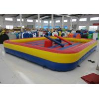 Quality Amusement Park Inflatable Sports Games Inflatable Jousting / Gladiator Digital Printing for sale