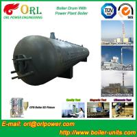 Quality 80 Ton Fire Tube Boiler Mud Drum Longitudinal Environment Friendly for sale