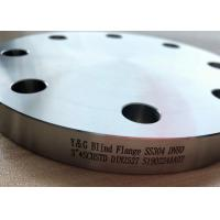 Buy cheap Pipe Fittings And Flanges Carbon Steel / Stainless Steel / Cu Ni Material Blind Flange from wholesalers