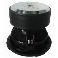 Low fs, high SPL high performance Competition Car Subwoofers,Big motor, RMS 5000W , big Kevlar cap for sale